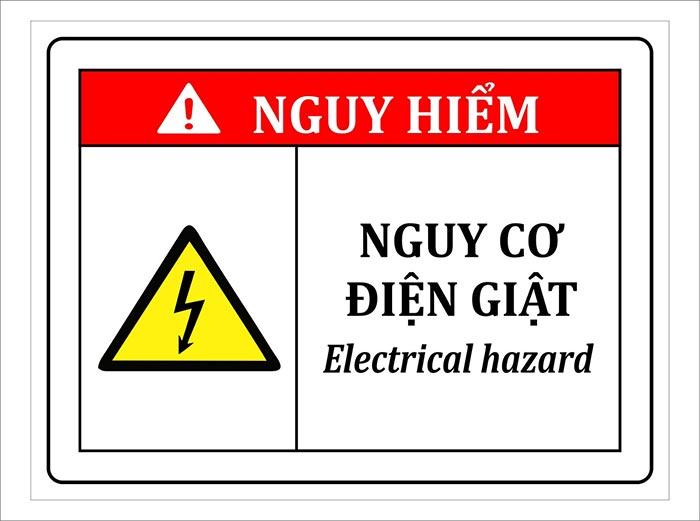 Cảnh báo nguy hiểm cho người lao động