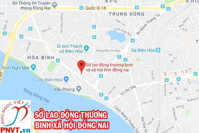 Địa chỉ văn phòng làm việc của sở lao động thương binh và xã hội tỉnh Đồng Nai